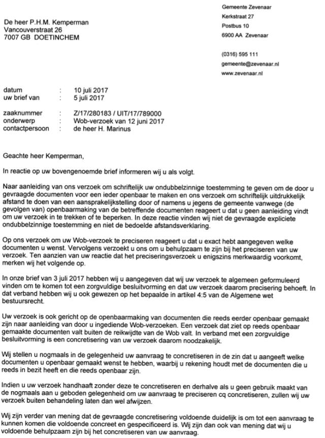Intimidatie psychische terreur en malafide wegpestpraktijken van de gemeente zevenaar fraude - Hoe een stuk scheiden ...